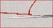 зацеп ткани минимален